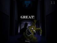 Fnaf 4 plushtrap win screen