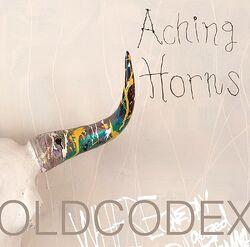 Aching horns cover white
