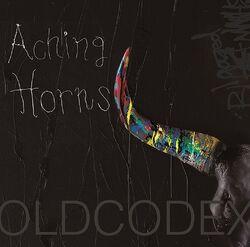 Aching horns cover black