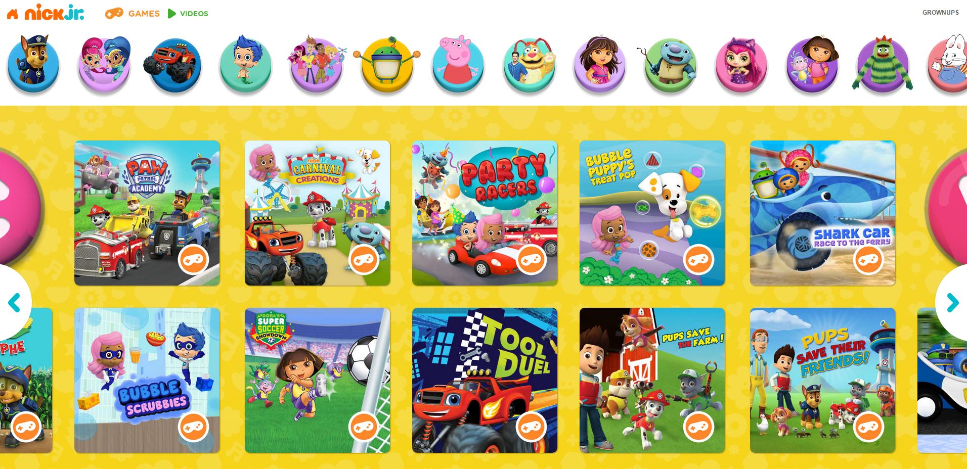 nick jr free preschool games nick jr gallery 412