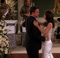 Monica and Chandler's First Dance as Husband and Wife