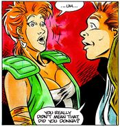 Fright Night Comics Donna and Evil Ed