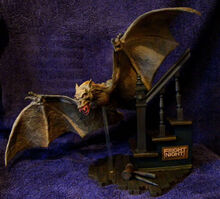 Fright Night Geometric Resin Model Kit Bat 2