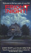 Fright Night Novelization Skipp Spector - International Edition