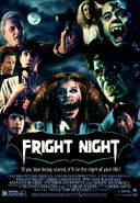 Fright Night Poster fan collage