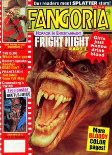 Fangoria Magazine : David Cornenberg's Scanners / Issue #10