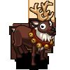 Brown Reindeer-icon