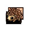 Brown Hedgehog-icon