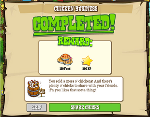 Chicken Business Completed