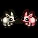 Kissing Rabbits-icon