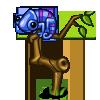 Blue Chameleon-icon