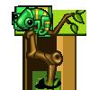 Green Chameleon-icon