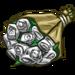 12 White Roses-icon