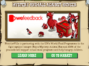 Mystery Animals Against Hunger Popup