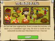 The Colors of Fall Popup