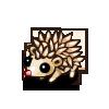 White Hedgehog-icon