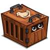 Animal crate icon