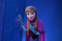 Anna tries to convince Elsa