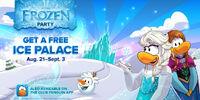 Club Penguin Frozen Party