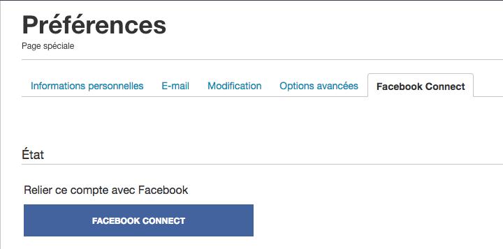 Fichier:FB Connect - onglet préférences.png