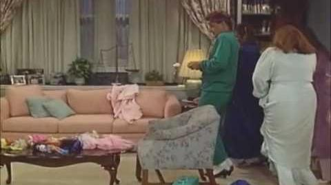 Full House - Stephanie's Mother Daughter Sleepover with Joey