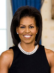 225px-Michelle Obama official portrait headshot