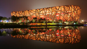 Birds nest stadium beijing china-HD