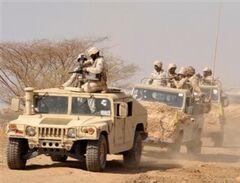 Saudi troops in Syria