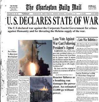 War declared!