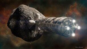 Astroid mining