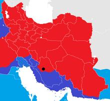 Iran War map 2
