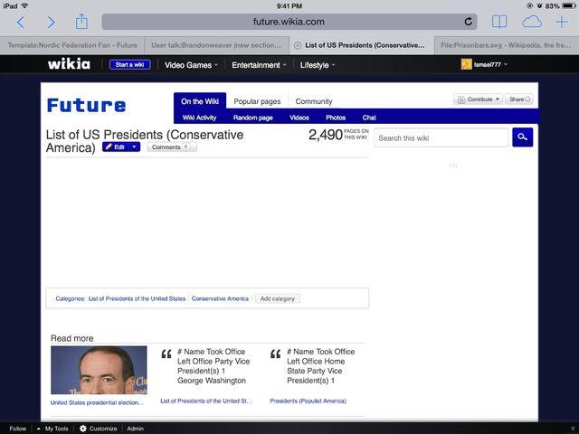 File:List of US Presidents (Conservative America).jpg
