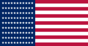 US flag 81 Star Great Field Flag