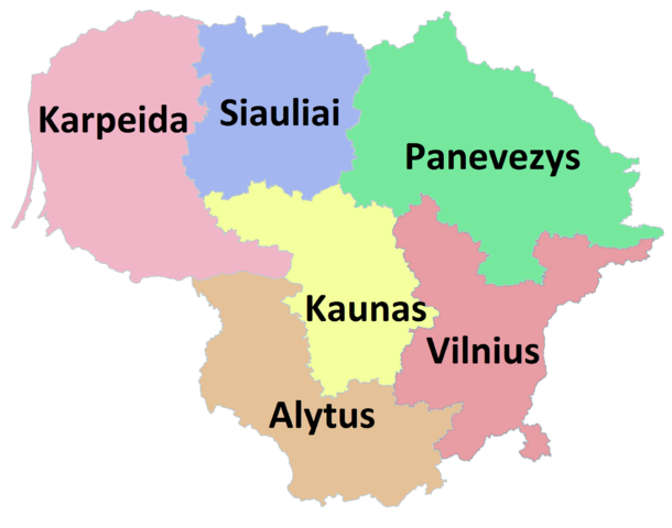 File:Counties of Lithuania.png