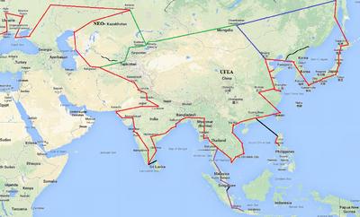 Pan asian highway