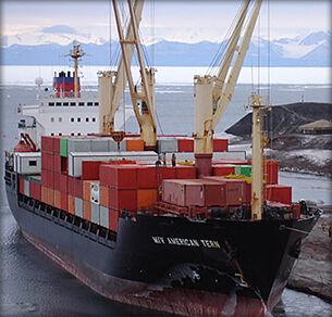 North Antarctica port