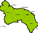 Administrative divisions of Great Guayana Republic