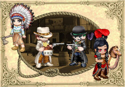 Wild West promo