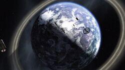3x11 Fleet above Algae planet