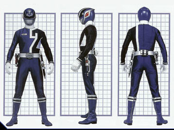 Image - SPD Blue Ranger Form.jpg | Power Rangers Wiki ...