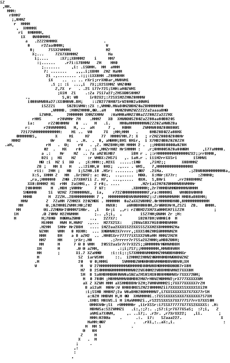 ASCII Art Small Online Gallery, Small ASCII Art