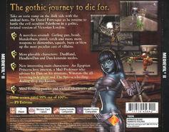 MediEvil II - Back Cover NTSC