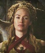 Cersei at Winterfell feast