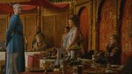 Brienne at joffrey wedding