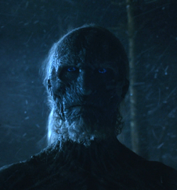 White Walker Valar Morghulis Face