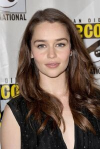 Emilia Clarke Comic Con July 2012