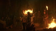 Clegane Kills Beric s3e5