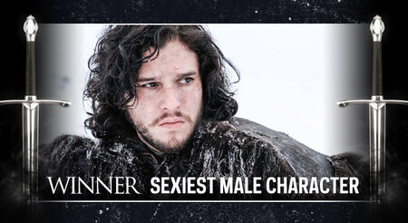 GOT AwardFrame SexiestMale