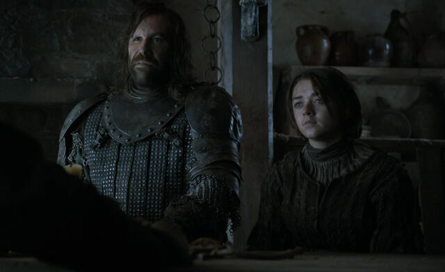 File:Arya and Sandor - Two Swords.jpg