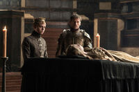 Jaime and the King Tommen
